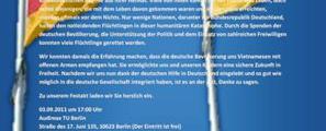 Video: Tag des Dankes an Deutschland, Berlin 03.09.2011