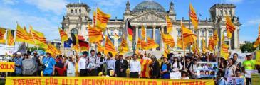 Vietnamesische Diaspora protestiert gemeinsam gegen Ausverkauf des Landes