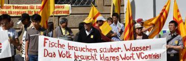 Demo gegen Umweltzerstörung und korrupte Regierung in Vietnam am 21.05. in München