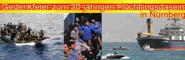 Herzliche Einladung zur Boat-People Gedenkfeier am 24.07.2010 in Nürnberg